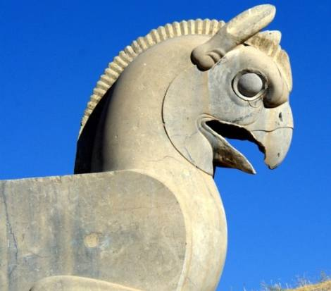 The Persepolis Griffin, Iran. Source: Travel the Unknown