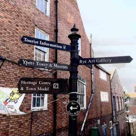 Art, history and food in Rye