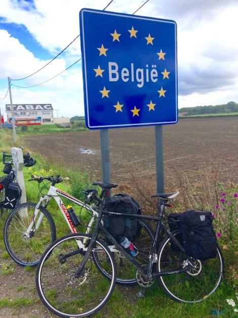 Ten wheels across Belgium