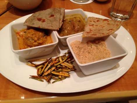 Dal Baati Churma, a delicious lentil-based dish
