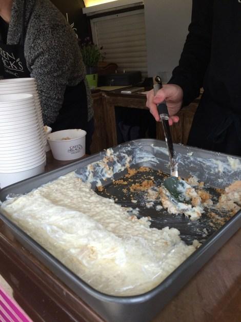 A dish of Kentish Pudding Pie