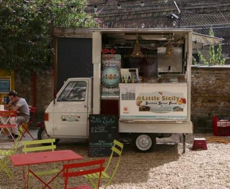 Food trucks add choice, colour and theatre to the market