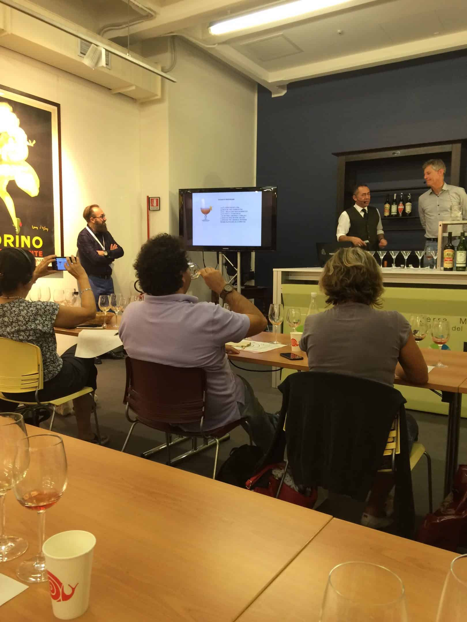 Vermouth tasting at Terre Madre, Turin 2016
