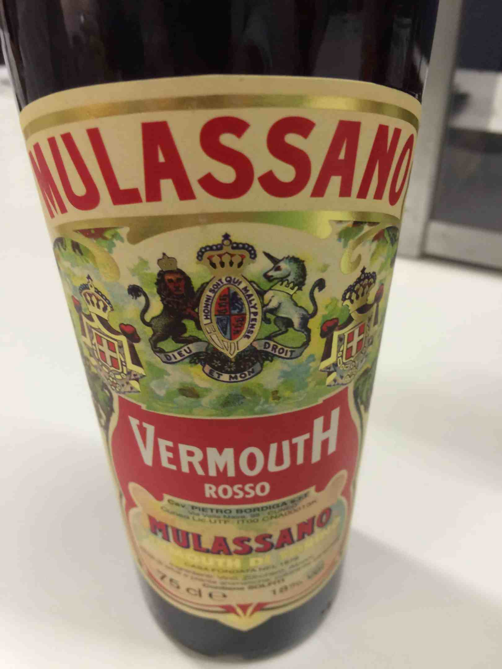 Italian vermouth from Piedmonte