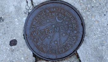 Sewerage & Water Board of New Orleans meter cover Creative Commons by Flickr user izik