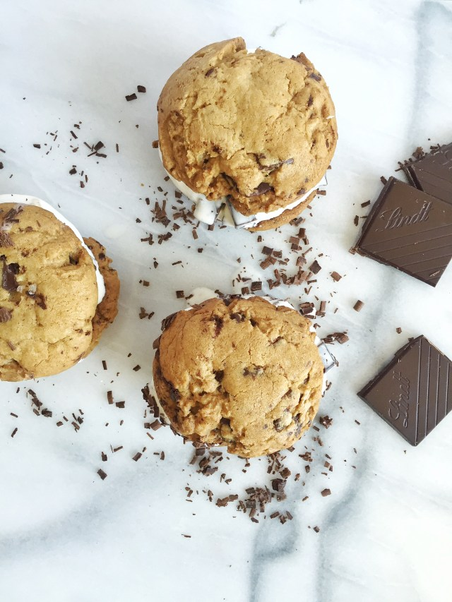 Lindt Chocolate Chip Cookies
