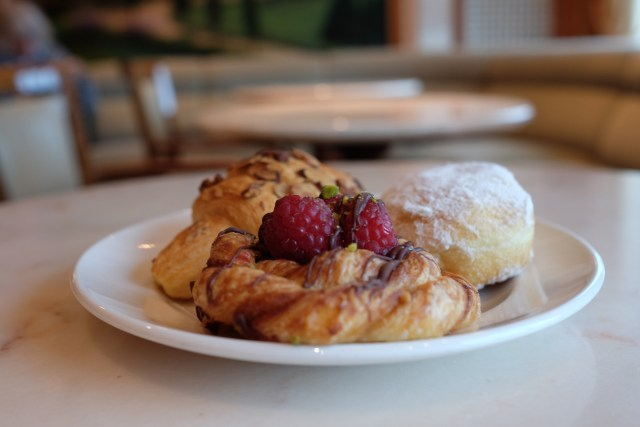 Pastries from International Cafe
