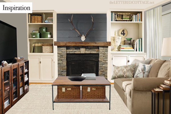Airstone Fireplace Makeover The Lettered Cottage
