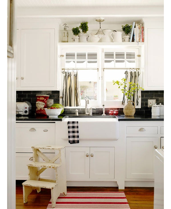 Countertop Series, Part 1 - Laminate   The Lettered Cottage on Black Countertops  id=12472