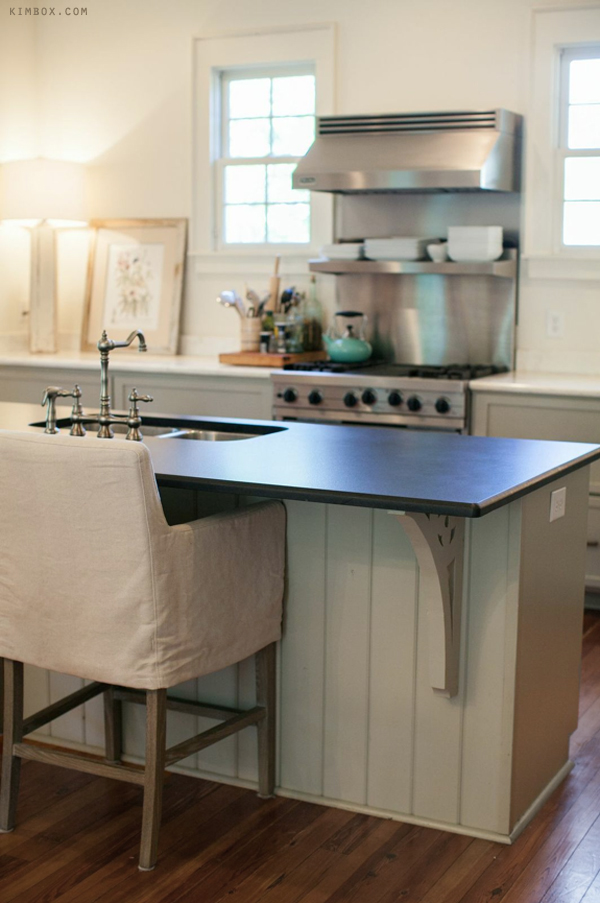 Countertop Series, Part 5 - Antiqued Absolute Black ... on Farmhouse Countertops  id=22856