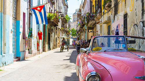 Beautiful Cuban Street