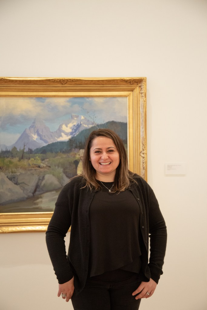 Nadia at the Anchorage Museum