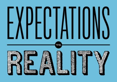Expectations.