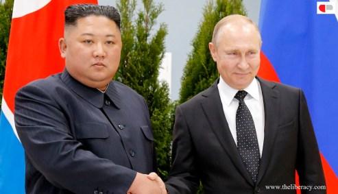 Putin and Kim Jong Un