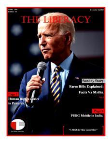 The Liberacy Newsletter (December 18, 2020)