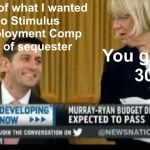 Ryan Murray budget deal