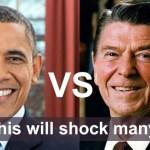President Barack Obama Ronald Reagan