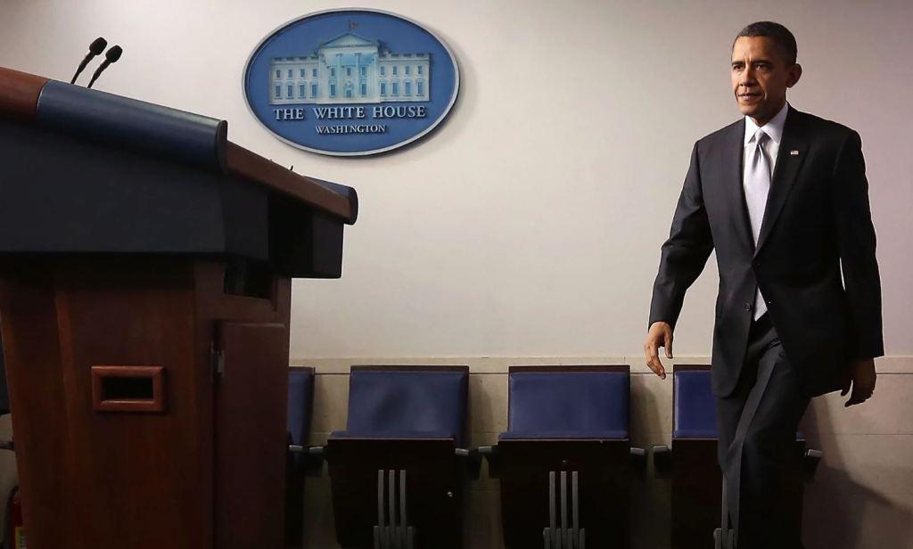 President Obama at the White House