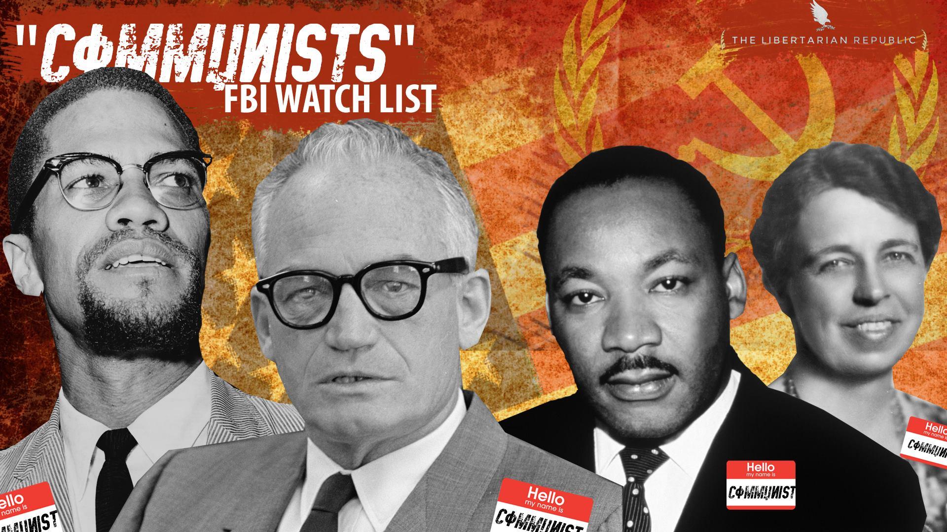 Image result for FBI Communism