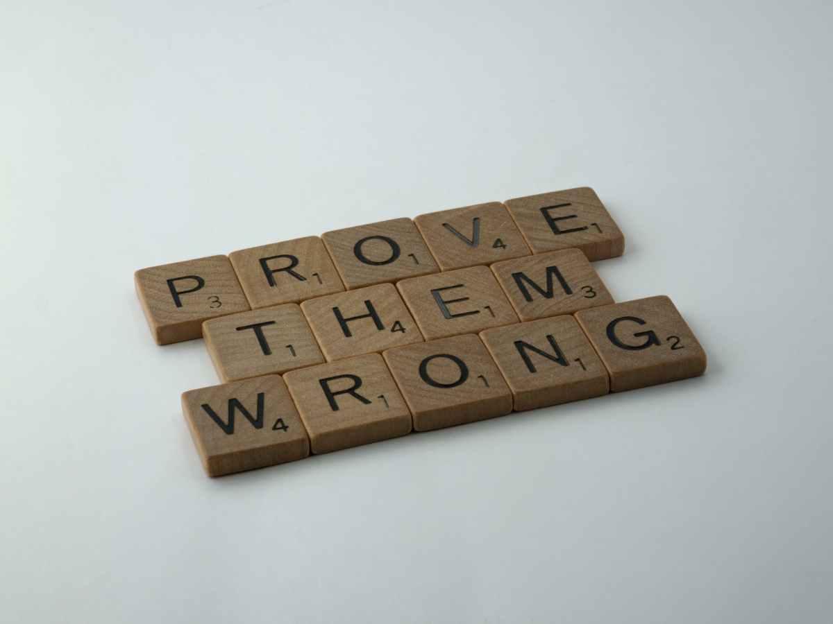 wood typography business creativity