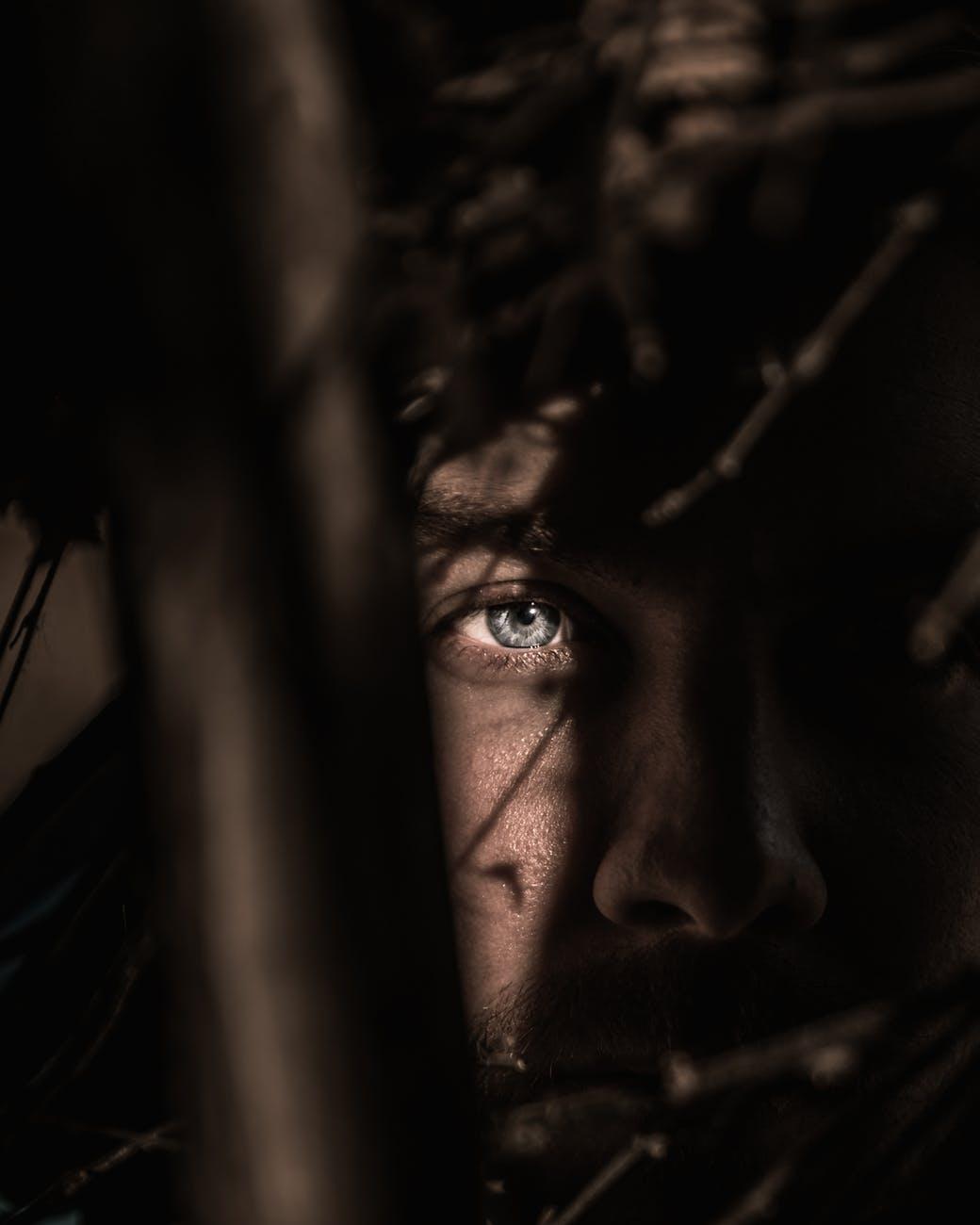 person s eye