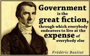 bastiat government statist welfare
