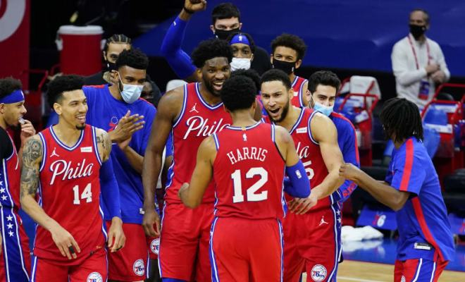 Sixers Starting Five