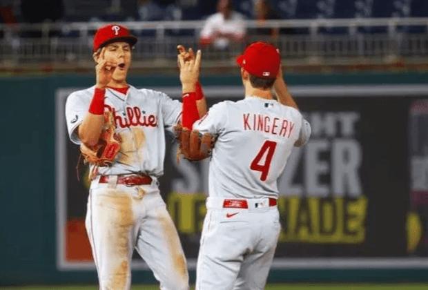 Phillies Nick Maton Scott Kingery