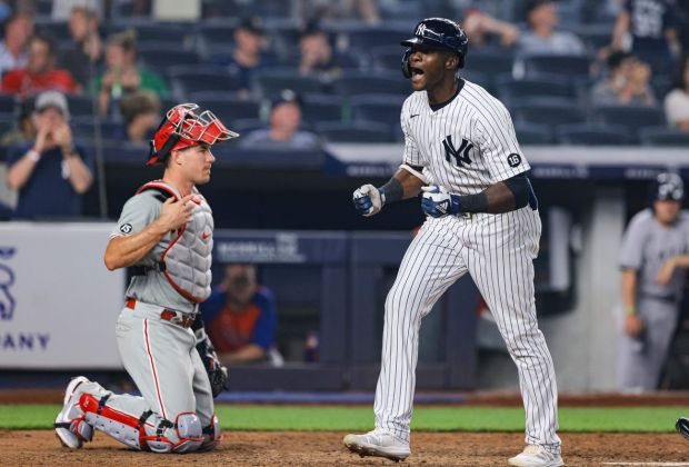 Phillies Yankees 6-5