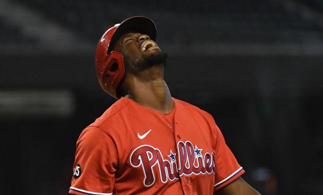 Phillies Swept