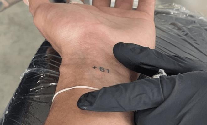 Ben Simmons New Tattoo