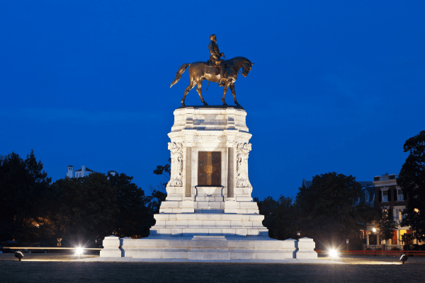 Robert E Lee monument, Lee monument, Richmond, Virginia,