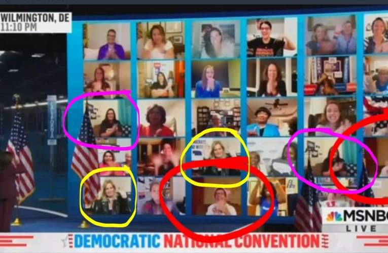 """Democrats Use Fake """"Doubles"""" to Deceive Viewers During DNC"""