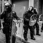 Law enforcement, Portland, Oregon, Minneapolis, Minnesota, back the blue, Police, Defund the police,