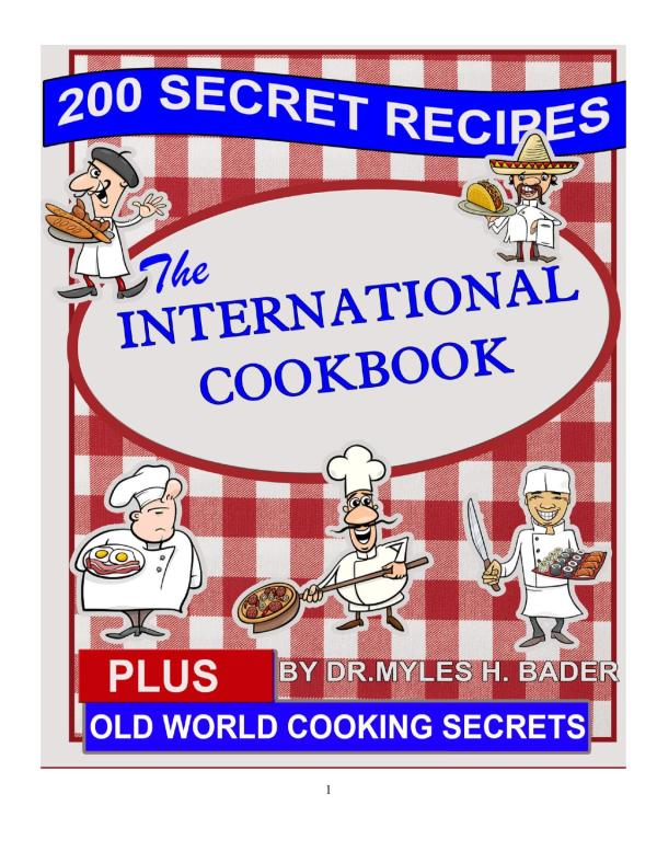 the international cookbook