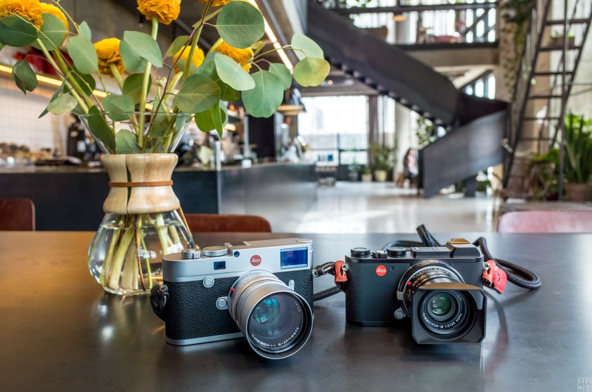 Left : Leica M10 Right Leica CL