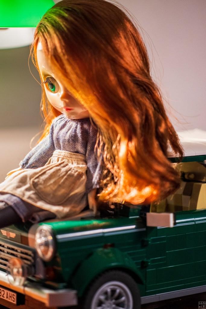 Leica and Blythe doll