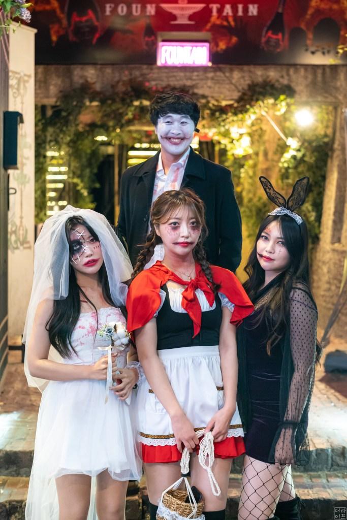 Itaewon halloween night leica m10