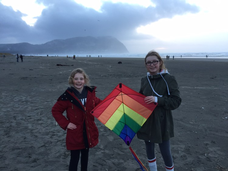 Kite flying is a must on the Oregon Coast!
