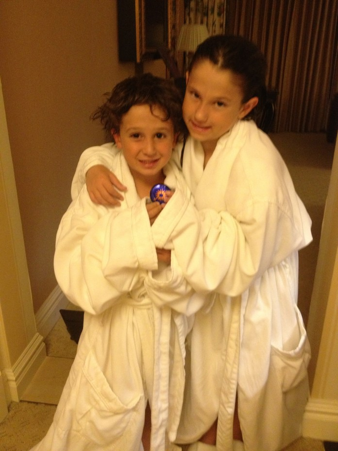 Kids in Robes