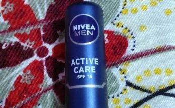 Nivea Men Active Care SPF 15 : Review