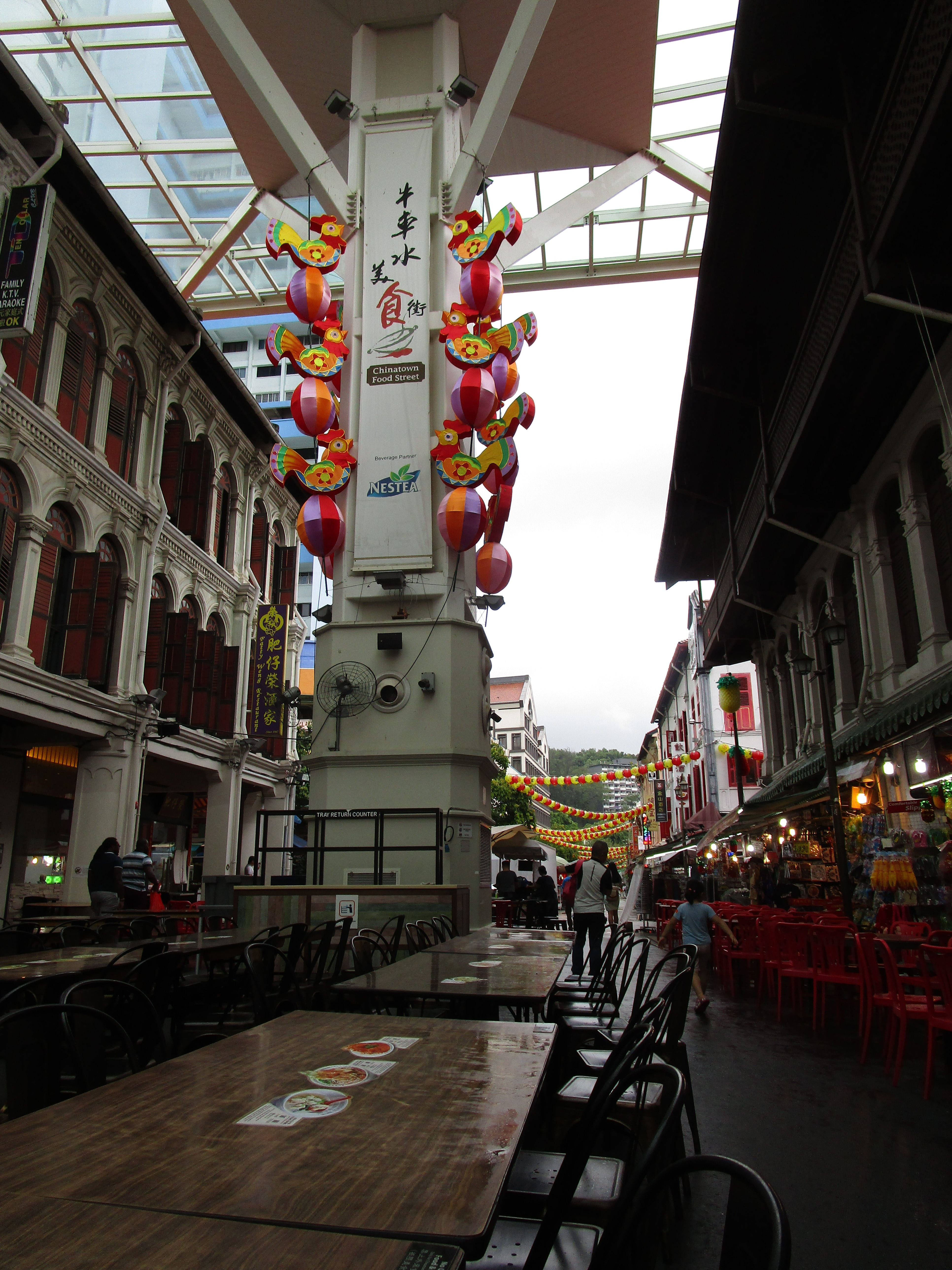 Smith Street in Singapore China