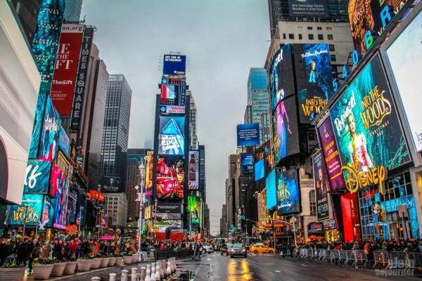 Times Square by Ai Long via Trover.com