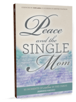 Peace and the Single Mom offers practical solutions to those who are in the process of starting over! Check it out here!
