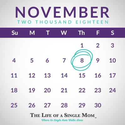 #NoSingleMomWalksAlone Calendar