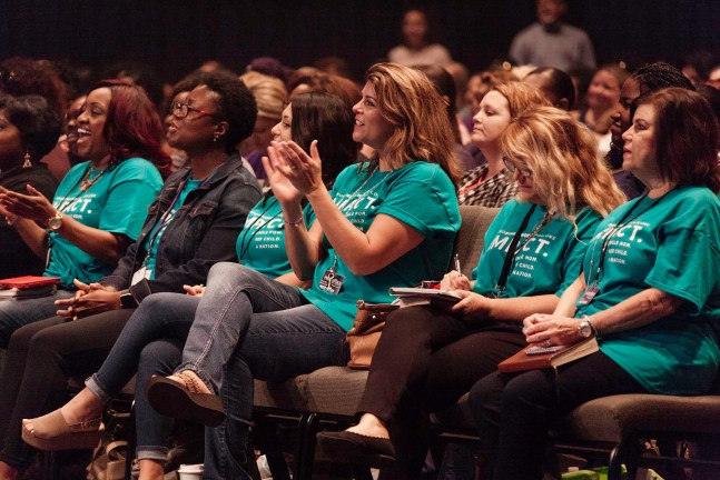 Women at the National Single Mom's Conference