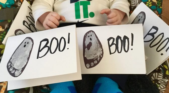 Baby's First Halloween Crafts