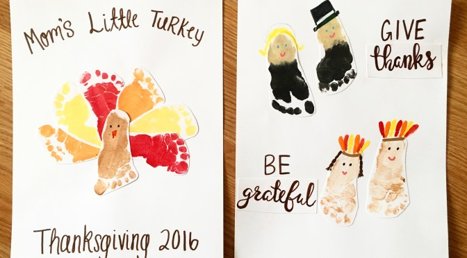 Baby's First Thanksgiving Crafts