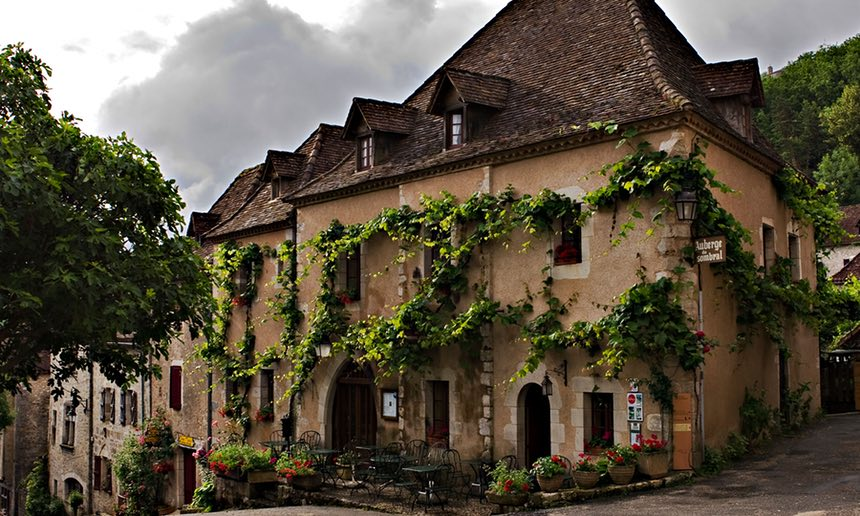 Great hotels, gites and auberges in France.