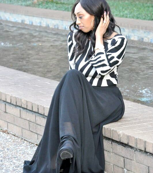 The Ultimate Black Maxi Skirt That Every Woman Needs